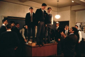 Standing on Desk